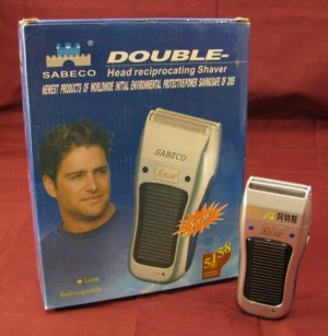 Solar Energy Powered Electric Cordless Foil Shaver