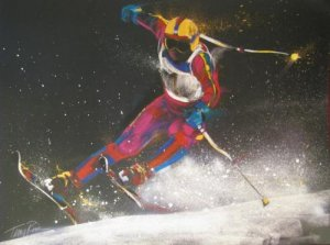 Final Sprint by Terry Rose; Autographed