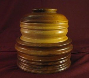 Stackable Wood Nesting Trinket Box
