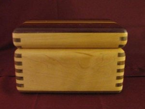 Beautiful Wood Box with A Lid