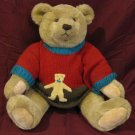 Large Teddy Bear with Sweater by Gund c.1982