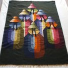 "Cholas handwoven peruvian wool tapestry 60""x 42"""