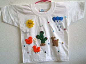 Arpillera T-shirt - size 6