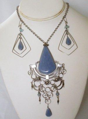 Alpaca necklace set - Celestine