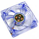 Logisys 120 MM Blue LED Case Fan with Molex Four Pin Connector