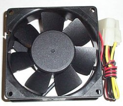 120mm Four Pin Molex Case Fan