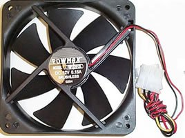 80mm Four Pin Molex Case Fan