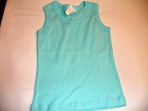 Light Blue Solid No sleeve (3-6m)
