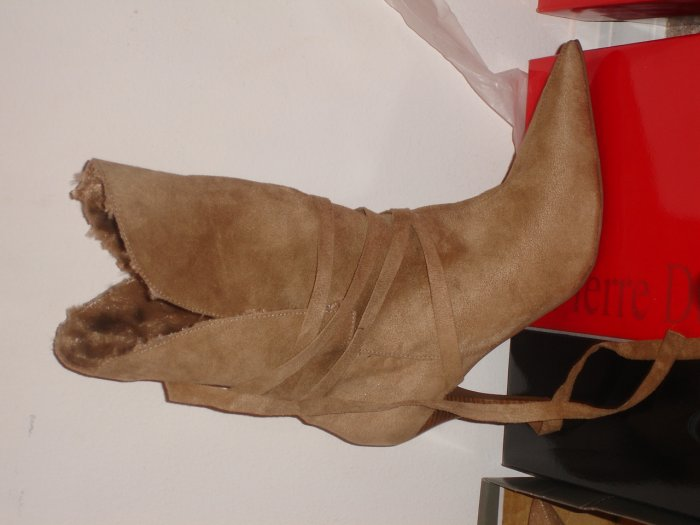 Camel/Tan Suede Laced Boot (11)