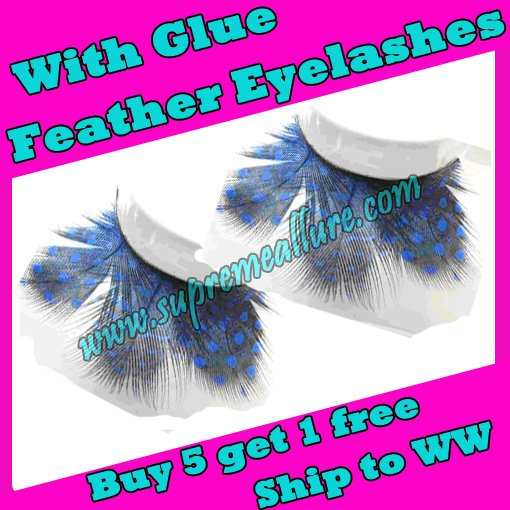 Feather Eyelashes SA-02