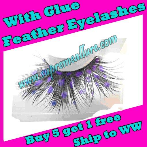 Feather Eyelashes SA-04