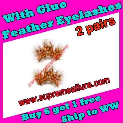 Feather Eyelashes SA-05