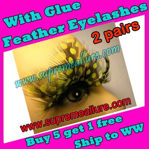 Feather Eyelashes SA-07