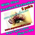 Feather Eyelashes SA-11