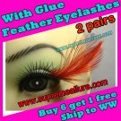 Feather Eyelashes SA-18