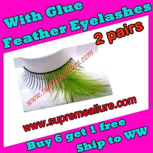 Feather Eyelashes SA-19