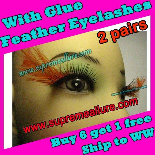 Feather Eyelashes SA-26