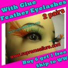 Feather Eyelashes SA-26