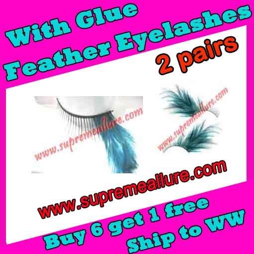 Feather Eyelashes SA-27