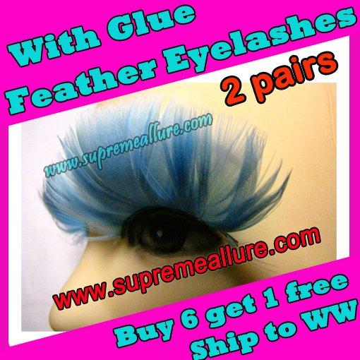 Feather Eyelashes SA-34