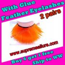 Feather Eyelashes SA-36