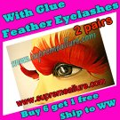 Feather Eyelashes SA-38