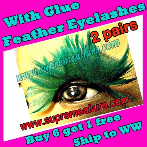 Feather Eyelashes SA-39