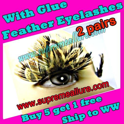 Feather Eyelashes SA-50