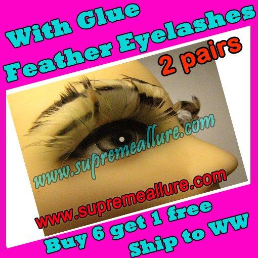 Feather Eyelashes SA-51