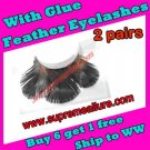 Feather Eyelashes SA-52