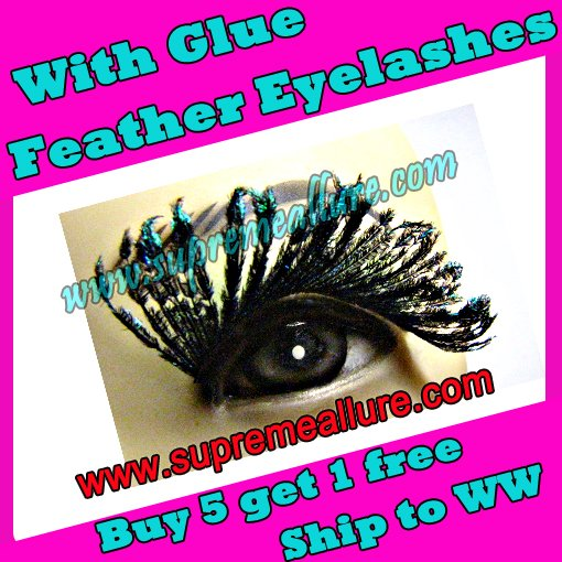 Feather Eyelashes SA-53
