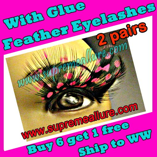 Feather Eyelashes SA-72