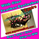 Feather Eyelashes SA-72