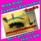 Feather Eyelashes SA-80