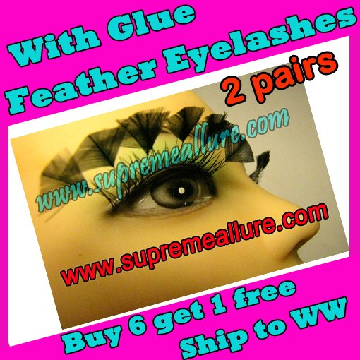 Feather Eyelashes SA-81