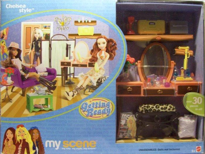 My Scene Chelsea Style Playset 2003 C5276 Barbie Nrfb