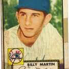 """Billy Martin Topps #175 baseball card"""