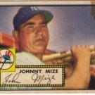 """Johnny Mize Topps #129 baseball card"""