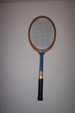 """ King Cup tennis racquet by Wilson"""