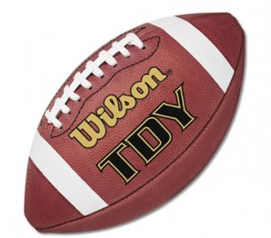 """"""" TDY Youth Game football by Wilson"""""""