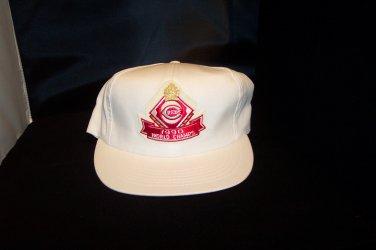 """1990 Reds Original World Series baseball cap NEW"""