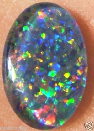 OPAL TRIPLET STONE FOR JEWELRY PENDANT OR RING   12x8mm
