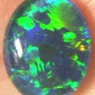 AUSTRALIAN  OPAL GEM TRIPLET FOR RING OR PENDANT 10x8mm