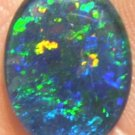 AUSTRALIAN GEM OPAL FOR JEWELRY PENDANT OR RING 16x12mm