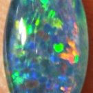 GEM OPALTRIPLET  FOR JEWELRY  PENDANT OR RING 14x7mm