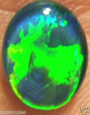 GEM OPAL TRIPLET FOR JEWELRY PENDANT OR RING 10x8mm