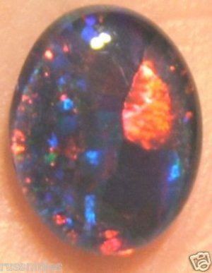 AUSI OPAL TRIPLET FOR JEWELRY PENDANT OR RING 10x8mm