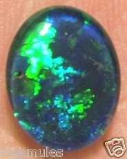 GEM OPALTRIPLET  FOR JEWELRY PENDANT OR RING   11x9mm