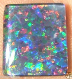 OPAL TRIPLET STONE FOR JEWELRY PENDANT OR RING  14x12mm
