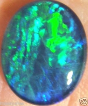 OPAL TRIPLET- JEWELRY STONE FOR PENDANT OR RING 12x10mm